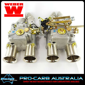 Weber 45 Dcoe Datsun L4 Carburetor Package Lp1000 Linkage L18 L20b 4 Cyl