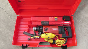 Hilti Dd 130 Core Drill Hand Held Dry wet System 115v ac Kit Combo 785
