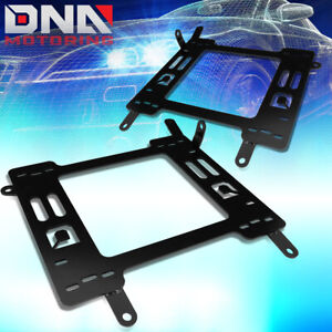 For 2011 2018 Ford Focus Pair Steel Racing Seats Mounting Brackets Rail Track