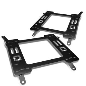 Fit 2011 2018 Ford Focus Pair Racing Set Seats Base Mount Brackets Rail Track