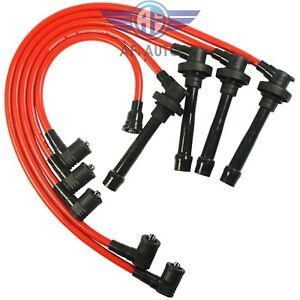Cable Spark Plug Ignition Wires For Honda Accord Civic Del Sol New