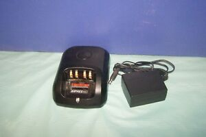 Motorola Wpln4226a Mototrbo Battery Charger W Pmmn4066a Xpr6550 Battery Impress