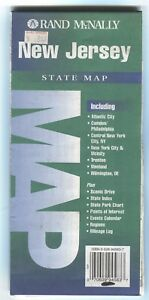 Rand Mcnally State Map New Jersey C 1997 Paper Highway