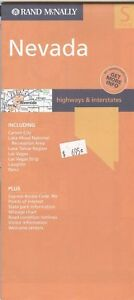 Rand Mcnally State Map Nevada C 2004 Paper Highway