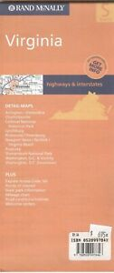 Rand Mcnally State Map Virginia C 2003 Paper Highway