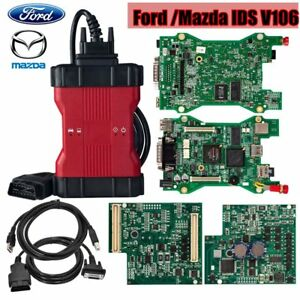 2018 New Vcqc For Ford Ids V106 Mazda Ids V106 Vcm Ii 2 In 1 Diagnostic Tool Sm