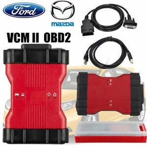 2018 New Vcqc Diagnostic Too For Ford Ids V106 Mazda Ids V106 Vcm Ii 2 In 1 Ss