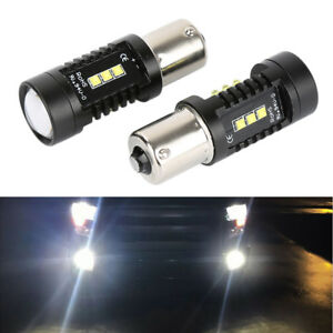 2 1156 200w Led 6000k White Projector Fog Driving Light Bulbs Drl Bright Chipset