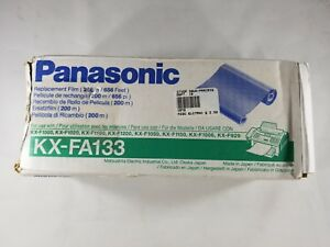Genuine Panasonic Kx fa133 Fax Thermal Transfer Ribbon Black Oem 037988801442