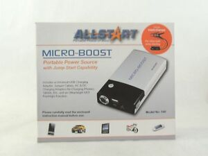 Allstart 540 Microboost Portable Power Source With The Power To Jump Start A Car