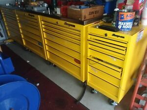 Snap On Krl 3 36 1 18 Roll Cab 28 Drawer Toolbox W 9 Stainless Top
