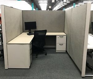 Steelcase Answer Workstation Cubicle 6x6