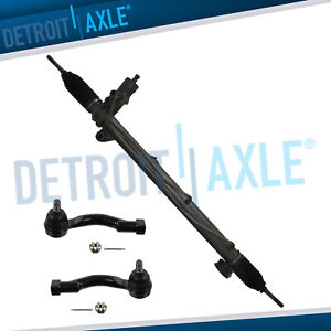 Complete Steering Rack Pinion Assembly Tie Rods For 2003 2006 Kia Sorento