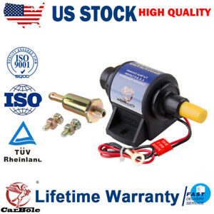 4 7 Psi High Performance Electric Fuel Pump For Use W Carburetor 35 Gph 12v Us