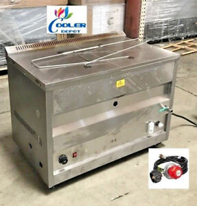 New 60l Propane Deep Fryer W Thermostat Or Natural Gas