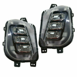 Fits Acura Mdx 2017 2020 Right Left Led Fog Lights Driving Lamps Bumper Pair