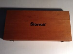 Vintage Starrett Wood Box Only For Starrett 354 Height Gage