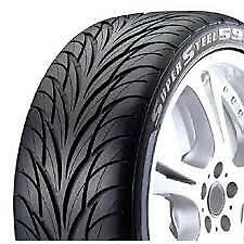 4 Federal Ss595 205 40r16 Ultra High Performance Tires