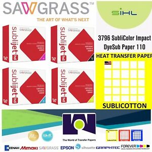 Super Quality Sawgrass Combo Ink Set Cmyk 100 Sh Pk Each Impact