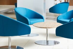 Haworth Collaborate Chair Round Swivel Base