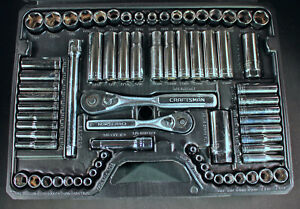 Craftsman 70 Piece Mechanics Socket Tool Set 33670 New With Case Made In Usa