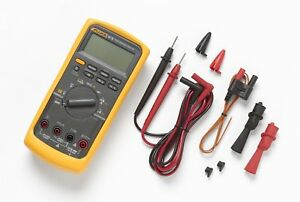 Fluke 87v 87 v Industrial Multimeter True rms Ac Voltage Auto Ranging New