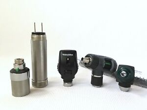 Welch Allyn Macroview Otoscope Ophthalmoscope Diagnostic Set W Plug in Handle