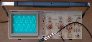 Tektronix 2213 60mhz Oscilloscope Calibrated Tested Two Probes Power Cord