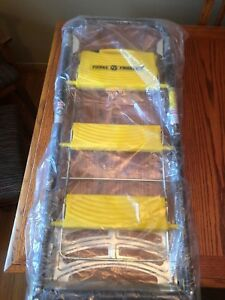 total Trolley Yellow Ladder Flatbed Dolly Hand Truck Cart 4 In 1 New