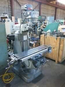Bridgeport 9x48 Milling Machine With Dro Ball Screws