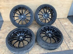 Jaguar Xfr Xf Supercharged 09 15 20 Inch Wheels And Tires Rims Set Gf9 Black