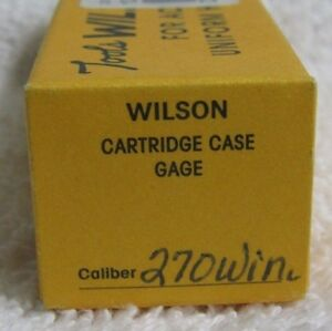 LE Wilson Cartridge Case Gage 270 WIN Winchester