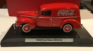 Coca-Cola 1940 Ford Sedan Delivery Van Die Cast Model