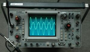 Tektronix 465 100mhz Oscilloscope Calibrated Sn B295538 With 2 Probes