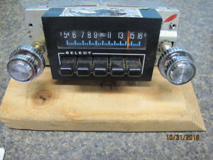 Vintage Ford Am Push Button Radio Nos Reduced