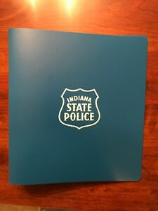 Indiana State Police 3 Ring Binders 1 1 2 Blue Brand New Box Of 20