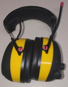3m Hearing Protection Work Tunes Safety Headphones For Mp3 Digital Radio Am fm