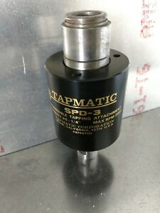 Tapmatic Spd 3 Reversible Tapping Attachment 2000rpm Max 0 1 4 Capacity