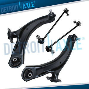 Front Lower Control Arms Sway Bars For 2008 2009 2010 2011 2013 Nissan Rogue