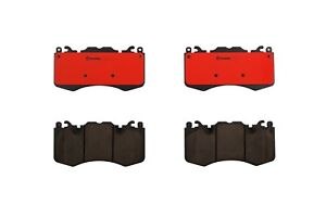 Front Brake Pad Set Slotted Brembo For Land Range Rover Sport Supercharged