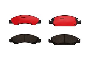 For Chevy Gmc Yukon Cadillac Front Brake Pad Set Ceramic Slotted