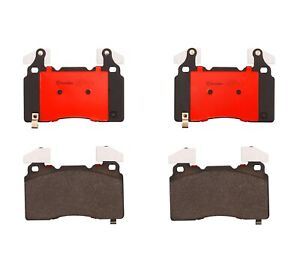 Brembo Front Ceramic Brake Pad Set For Cadillac Ct6 Cts Xts Chevrolet Camaro Ss