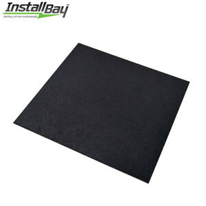 1 Abs Plastic Textured Plastic Sheet Universal 12in X 12in X 3 16in Black