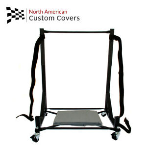 Mercedes R129 Sl Hard Top Stand Trolley Cart Rack Hardtop Dust Cover 050b