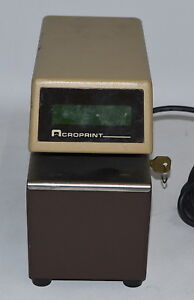Acroprint Etc Digital Time Stamp used No Accessories