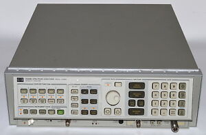 Hp 8568b Spectrum Analyzer 100 Hz 1 5 Ghz used Hewlett Packard