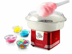 Electric Cotton Candy Maker Sugar free Retro Red Commercial Floss Machine Kit