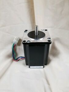Lin Engineering 570ql 04p Stepper Motor 263oz in 6 60a 0 9 step Nema 23