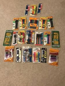 Art Supply Lot Uni ball Pens pencils Bic Marking And Expo Dry Erase Markers