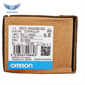 Omron E5cc qx2asm 800 Temperature Controller 100 240v Ac In Box Fast Shipping